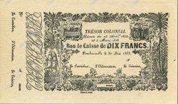 10 Francs MARTINIQUE  1863 P.A04r pr.NEUF