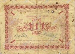 1 Franc MARTINIQUE  1884 P.02 TTB