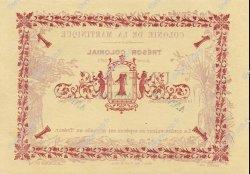 1 Franc MARTINIQUE  1884 P.02s pr.NEUF