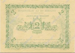 2 Francs MARTINIQUE  1884 P.03s SPL