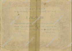 1 Franc MARTINIQUE  1874 P.05A TTB+