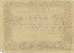 1 Franc MARTINIQUE  1874 P.05A SUP