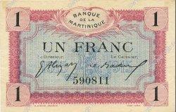 1 Franc MARTINIQUE  1915 P.10 SUP