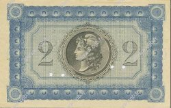 2 Francs MARTINIQUE  1915 P.11s SPL