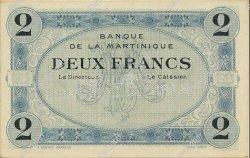 2 Francs MARTINIQUE  1915 P.11s pr.NEUF
