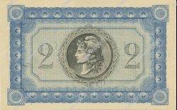 2 Francs MARTINIQUE  1915 P.11 NEUF
