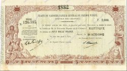 2000 Francs MARTINIQUE  1882 K.372bis XF