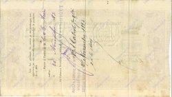 5000 Francs MARTINIQUE  1883 K.373bis SUP