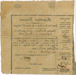5000 Francs SAINT DOMINGUE  1804 K.382 TTB