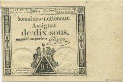 10 Sous FRANCE  1792 Laf.148 pr.NEUF