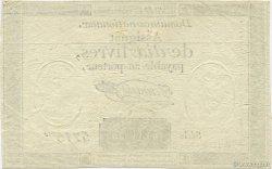 10 Livres FRANCE  1792 Laf.161b SUP