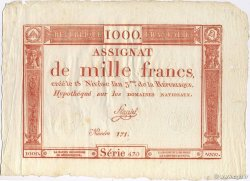1000 Francs FRANCE  1795 Laf.175 SPL