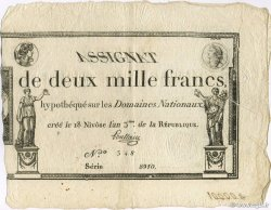 2000 Francs FRANCE  1795 Laf.176 SPL