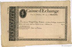 25 Francs Caisse d