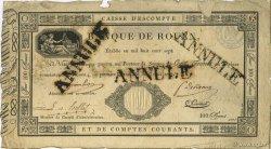 100 Francs Banque de Rouen FRANCE régionalisme et divers  1812 F.-- TTB