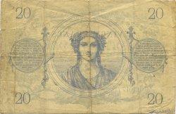 20 Francs type 1871 FRANCE  1872 F.A46.03 pr.TB