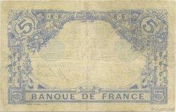 5 Francs BLEU FRANCE  1913 F.02.19 pr.TTB