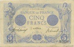 5 Francs BLEU FRANCE  1915 F.02.26 TB+