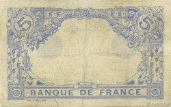 5 Francs BLEU FRANCE  1915 F.02.32 pr.TTB