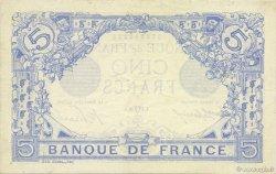 5 Francs BLEU FRANCE  1916 F.02.38 SPL+