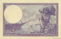 5 Francs VIOLET FRANCE  1918 F.03.02 pr.SPL