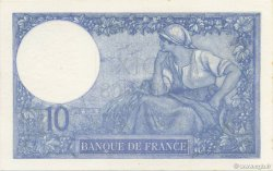 10 Francs MINERVE FRANCE  1918 F.06.03 NEUF