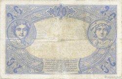 20 Francs BLEU FRANCE  1906 F.10.01 pr.TB