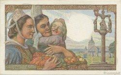 20 Francs PÊCHEUR FRANCE  1948 F.13.12 SPL