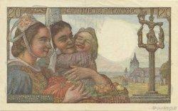20 Francs PÊCHEUR FRANCE  1950 F.13.17 SPL