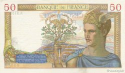 50 Francs CÉRÈS modifié FRANCE  1938 F.18.18 SPL+