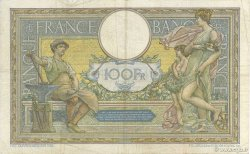 100 Francs LUC OLIVIER MERSON grands cartouches FRANCE  1923 F.24.01 TB+