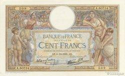 100 Francs LUC OLIVIER MERSON type modifié FRANCE  1938 F.25.30 SUP+