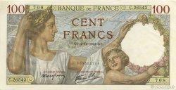 100 Francs SULLY FRANCE  1941 F.26.62 pr.NEUF