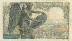 100 Francs DESCARTES FRANCE  1943 F.27.03 TB à TTB