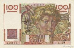 100 Francs JEUNE PAYSAN FRANCE  1946 F.28.11 pr.NEUF
