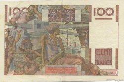 100 Francs JEUNE PAYSAN filigrane inversé FRANCE  1953 F.28bis.02 SUP+
