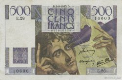 500 Francs CHATEAUBRIAND FRANCE  1945 F.34.02 TTB