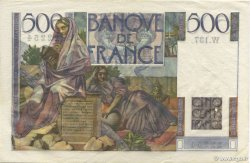 500 Francs CHATEAUBRIAND FRANCE  1953 F.34.11 pr.SUP