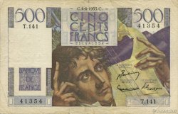 500 Francs CHATEAUBRIAND FRANCE  1953 F.34.12 TTB