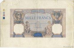 1000 Francs CÉRÈS ET MERCURE FRANCE  1927 F.37.00 TTB
