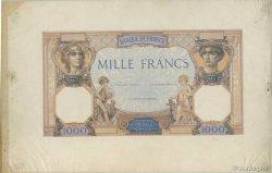1000 Francs CÉRÈS ET MERCURE FRANCE  1927 F.37.00 SPL