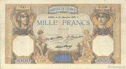 1000 Francs CÉRÈS ET MERCURE FRANCE  1930 F.37.05 TTB