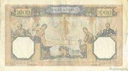1000 Francs CÉRÈS ET MERCURE type modifié FRANCE  1940 F.38.44 TTB à SUP