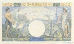 1000 Francs COMMERCE ET INDUSTRIE FRANCE  1940 F.39.01 SPL