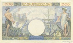 1000 Francs COMMERCE ET INDUSTRIE FRANCE  1940 F.39.03 SUP à SPL