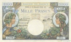 1000 Francs COMMERCE ET INDUSTRIE FRANCE  1940 F.39.03 TTB