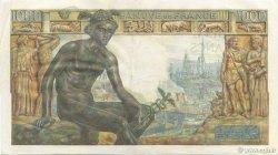 1000 Francs DÉESSE DÉMÉTER FRANCE  1942 F.40.12 pr.SUP