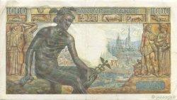 1000 Francs DÉESSE DÉMÉTER FRANCE  1942 F.40.12