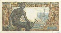 1000 Francs DÉESSE DÉMÉTER FRANCE  1943 F.40.15 TTB+