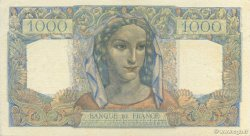 1000 Francs MINERVE ET HERCULE FRANCE  1945 F.41.05 TTB+